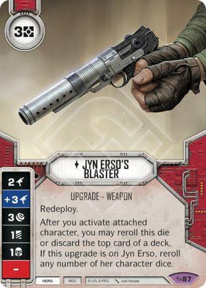 SW Destiny - Jyn Erso's Blaster
