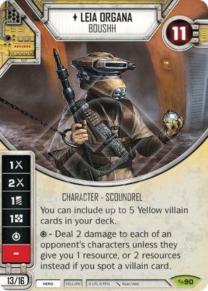SW Destiny - Leia Organa Boushh