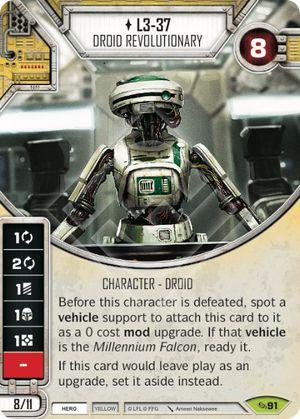 SW Destiny -  L3-37 Droid Revolutionary