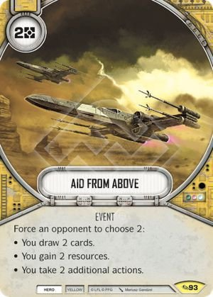 SW Destiny -  Aid From Above