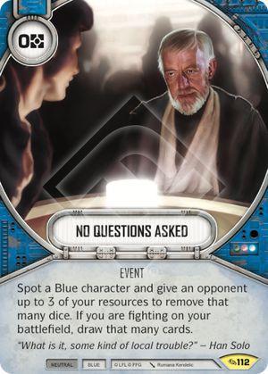 SW Destiny - No Questions Asked