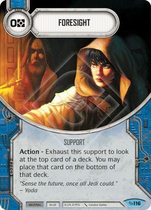 SW Destiny - Foresight