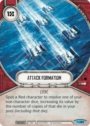 SW Destiny - Attack Formation
