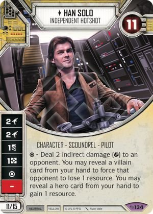 SW Destiny -  Han Solo Independent Hotshot