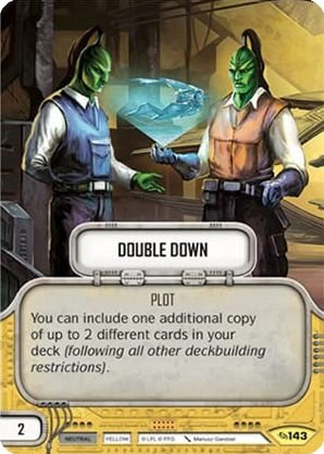 SW Destiny - Double Down