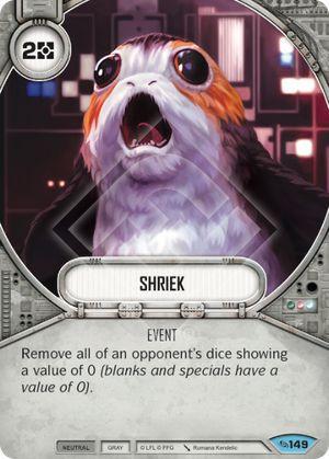 SW Destiny - Shriek
