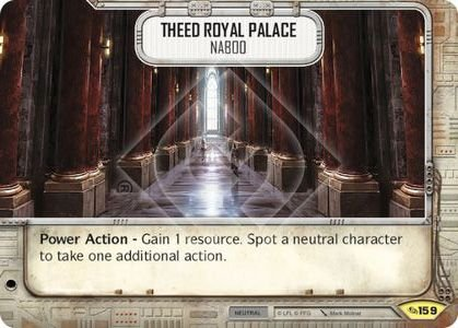 SW Destiny - Theed Royal Palace Naboo