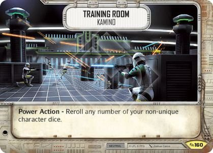 SW Destiny - Training Room Kamino