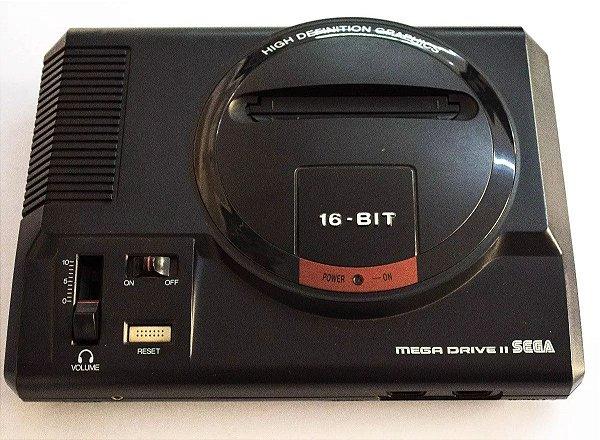 Console Sega Mega Drive 2 Completo + Jogo Brinde