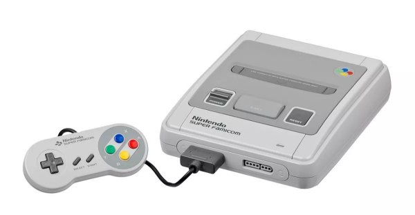 Console Super Famicom Completo + Jogo Brinde