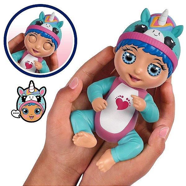 Boneca Interativa Tiny Toes Luna Gargalhada