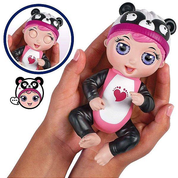 Boneca Interativa Tiny Toes Gaby Risonha