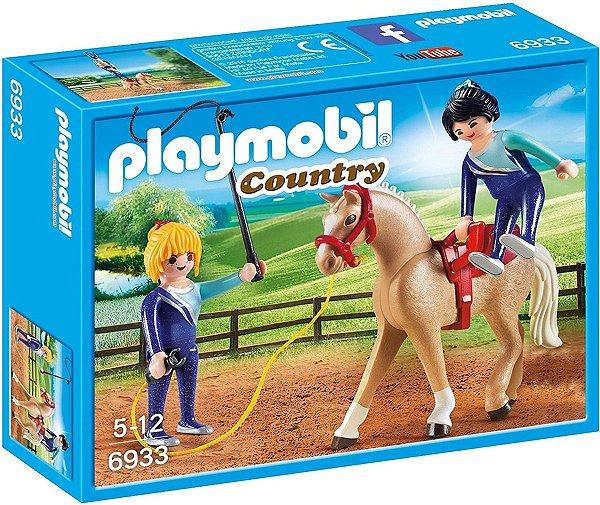 Playmobil 6933 - Treinamento De Ginastas Com Cavalos