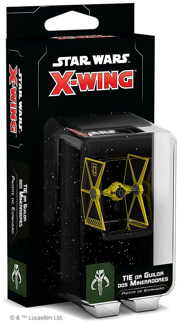 Jogo Star Wars X-Wing 2.0 - Expansão Tie Do Clã De Mineração - Wave 2