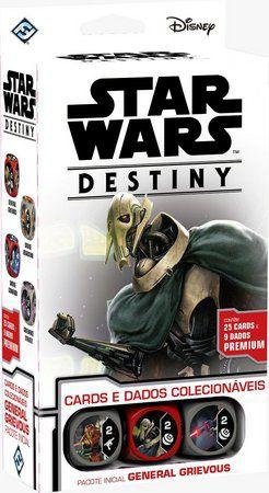 Jogo Star Wars Destiny Pacote inicial - General Grievous