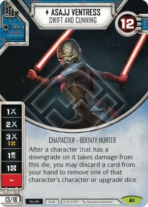 SW Destiny - Asajj Ventress Swift And Cunning