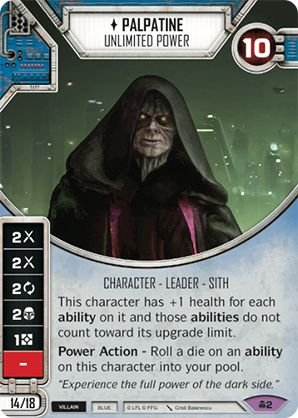 SW Destiny - Palpatine Unlimited Power