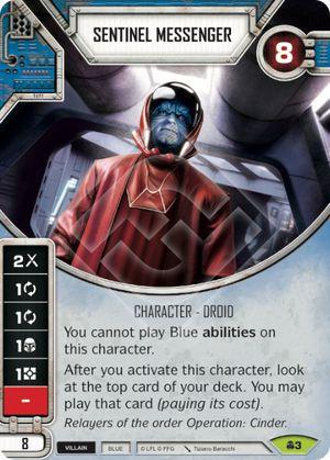 SW Destiny - Sentinel Messenger