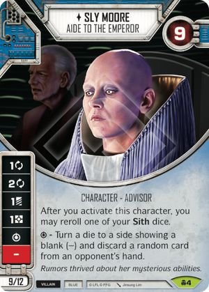 SW Destiny - Sly Moore Aide to the Emperor