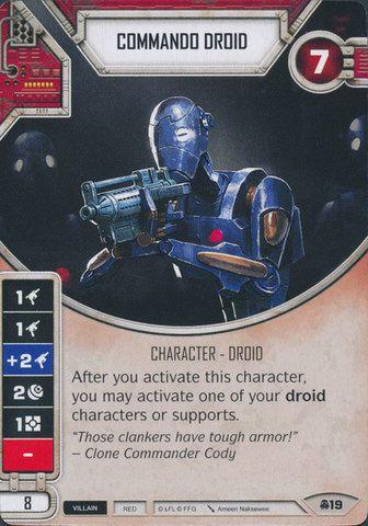 SW Destiny - Commando Droid