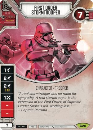 SW Destiny - First Order Stormtrooper