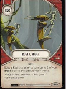 SW Destiny - Roger, Roger