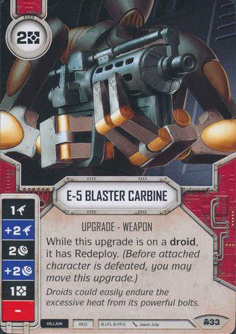 SW Destiny - E-5 Blaster Carbine