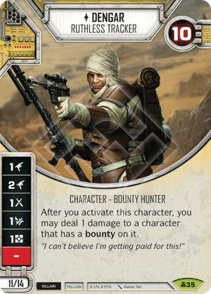 SW Destiny - Dengar Ruthless Tracker