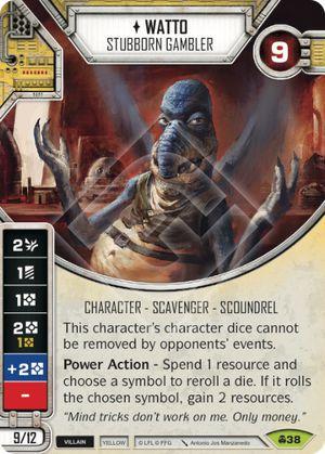 SW Destiny - Watto Stubborn Gambler