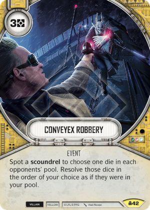 SW Destiny - Conveyex Robbery