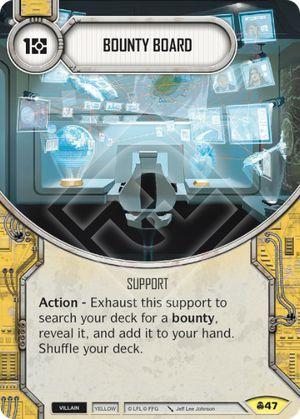SW Destiny - Bounty Board