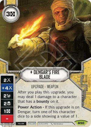 SW Destiny - Dengar's Fire Blade