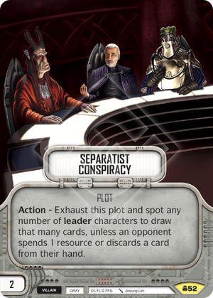 SW Destiny - Separatist Conspiracy