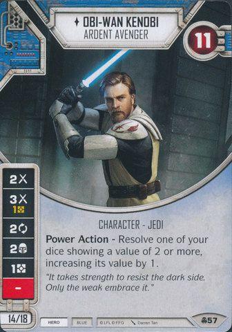 SW Destiny - Obi-Wan Kenobi Ardent Avenger