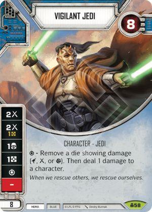 SW Destiny - Vigilant Jedi