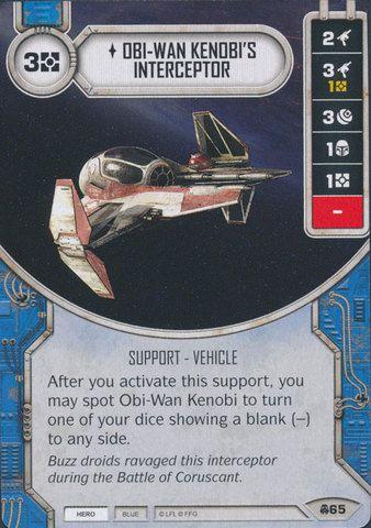 SW Destiny - Obi-Wan Kenobi's Interceptor