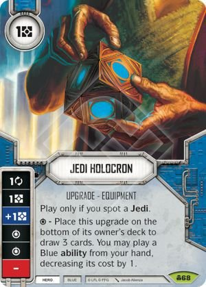 SW Destiny - Jedi Holocron