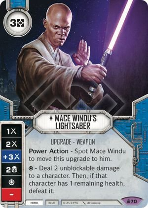 SW Destiny - Mace Windu's Lightsaber