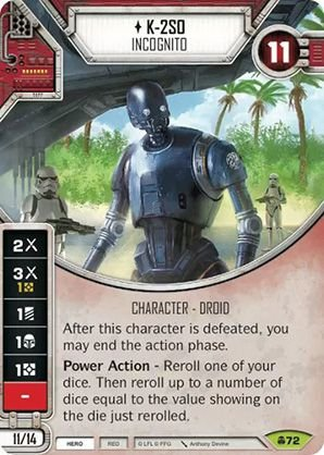 SW Destiny -  K-2SO Incognito