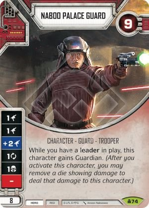 SW Destiny - Naboo Palace Guard