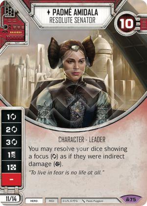 SW Destiny - Padmé Amidala Resolute Senator