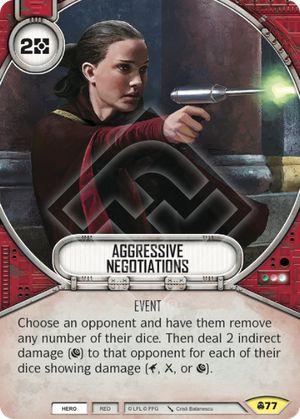 SW Destiny - Aggressive Negotiations