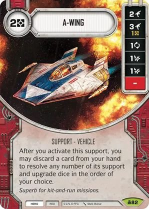 SW Destiny - A-Wing