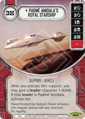SW Destiny - Padmé Amidala's Royal Starship