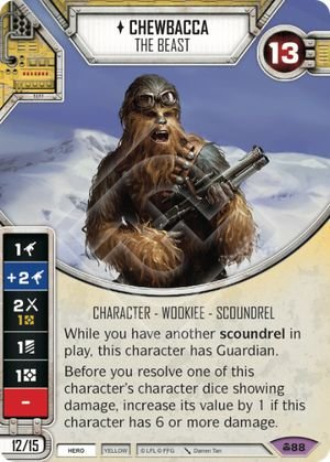SW Destiny - Chewbacca The Beast