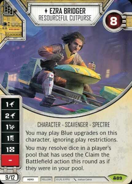 SW Destiny - Ezra Bridger Resourceful Cutpurse