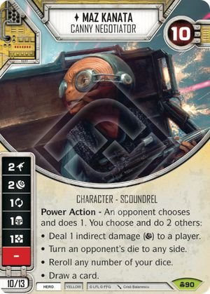 SW Destiny - Maz Kanata Canny Negotiator