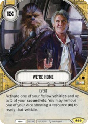 SW Destiny - We're Home