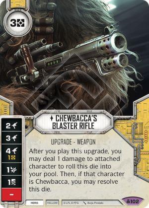 SW Destiny - Chewbacca's Blaster Rifle