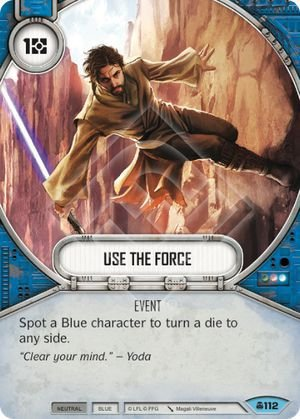 SW Destiny - Use The Force